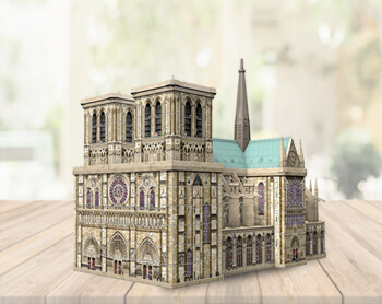 3D and 4D puzzles